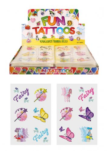 Fairy Themed Tattoos (Box)